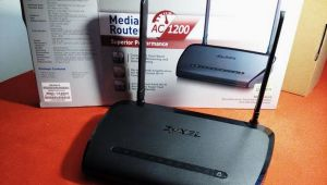 Zyxel NBG6616 dual band Media Router AC1200