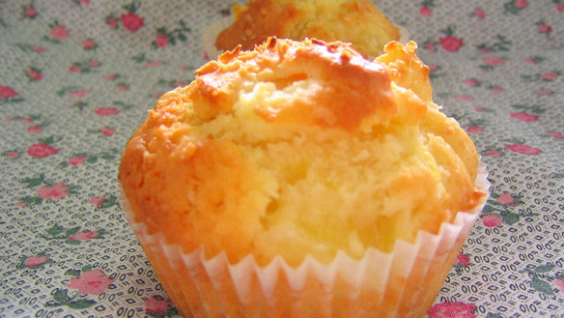 muffin all'ananas light