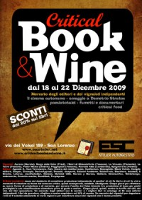 critical book and wine