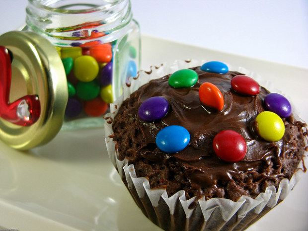 Cupcakes come i brownies