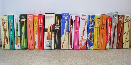 pocky collection giapponese