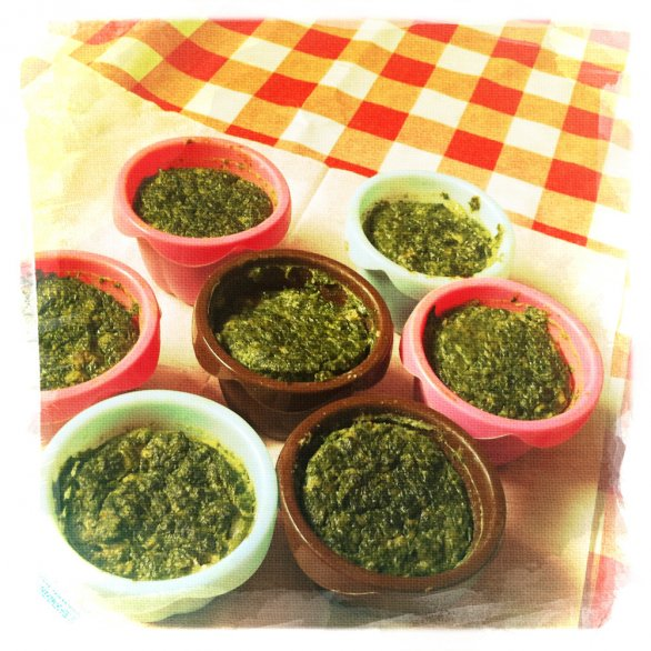Souffle spinaci