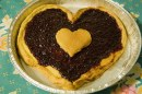Torte decorate per San Valentino crostata