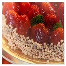 Torte decorate per San Valentino con fragole