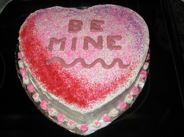 Torte decorate per San Valentino