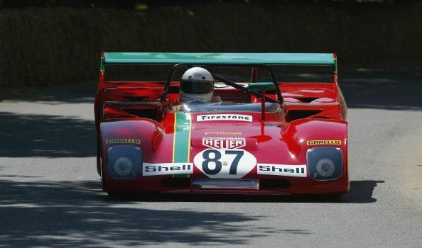Ferrari 312PB in action