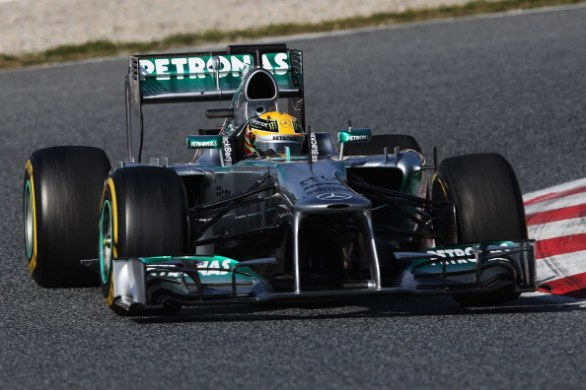 hamilton day 3 barcellona