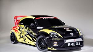 La Volkswagen Beetle per il Red Bull Global Rallycross