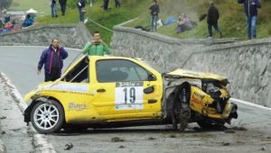Le immagini del terribile incidente al Rally Mont Blanc