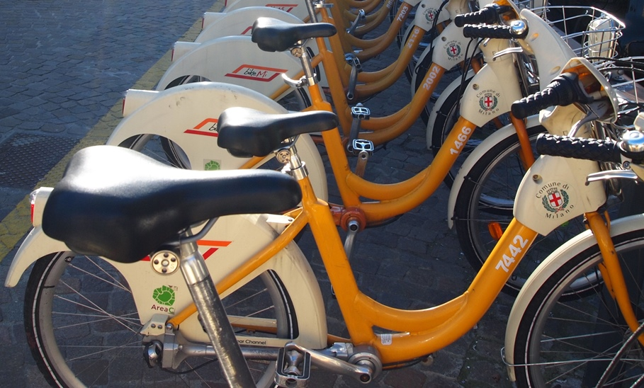 Bike sharing italia dati e statistiche for Mobile milano bike sharing