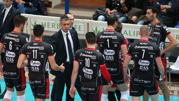 Trentino Volley-Novi Sad il 19 novembre 2014