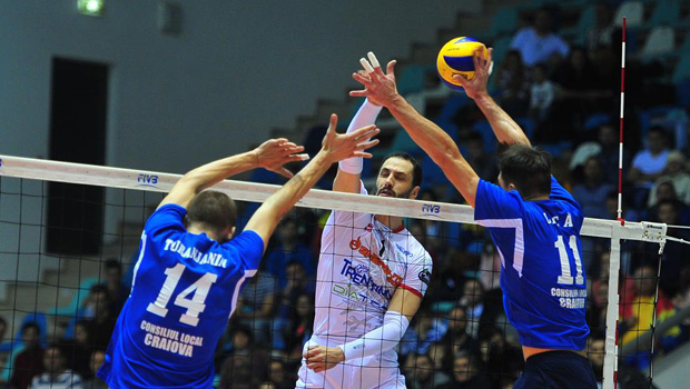 Trento vince a Craiova in Cev Cup 2015