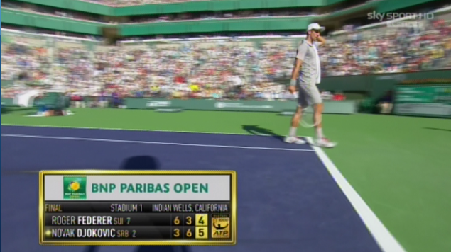 Djokovic serve per il match