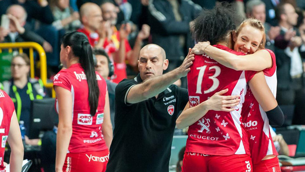 Champions League Volley Femminile 2015 Playoff