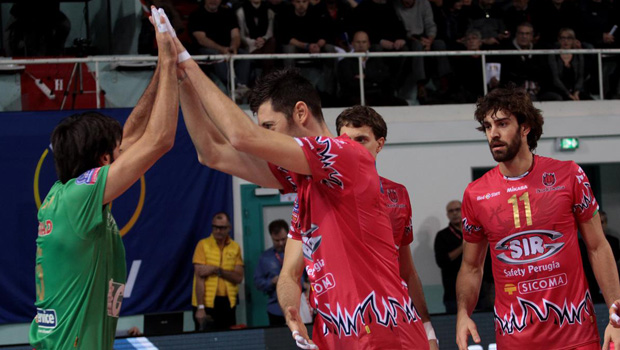 Sir Safety Perugia Champions League