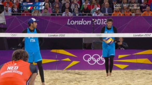 Londra 2012, Beach Volley Italia-Olanda