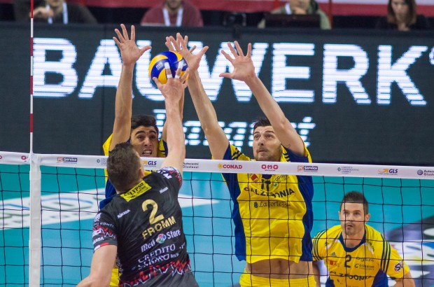 Perugia-Verona in tv Coppa Italia Volley 2015
