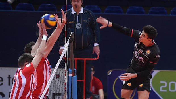Andata quarti Challenge Cup volley 2015