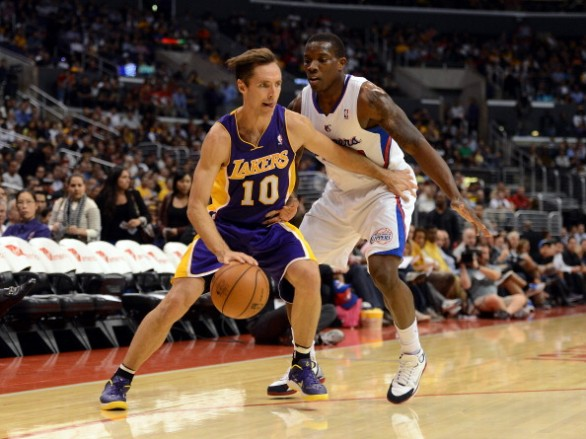 Los Angeles Lakers v Los Angeles Clippers preseason 2012-2013