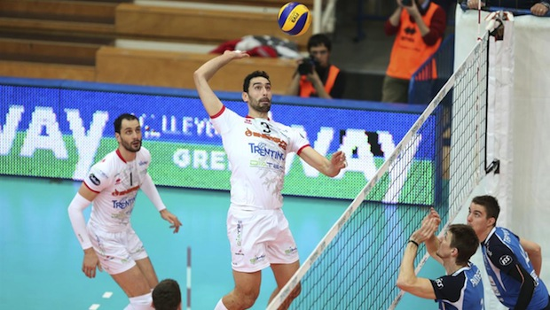 Trentino Volley in Cev Cup