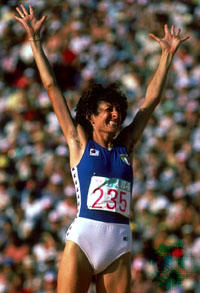 Sara Simeoni - Atletica - Los Angeles 1984