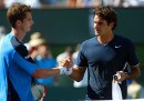 Murray e Federer a Indian Wells nel 2009
