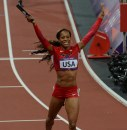 Sanya Richards-Ross: gli USA vincono la 4x400