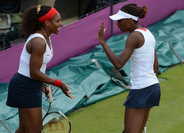 Londra 2012, Tennis: Le sorelle Venus e Serena Williams