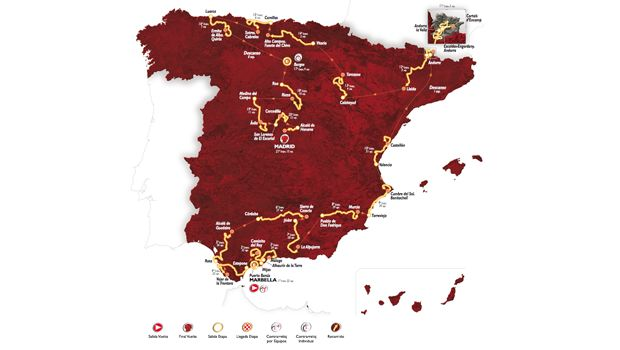 Vuelta 2015 | Percorso | Altimetrie di tutte le tappe | Foto e video - Outdoorblog.it (Blog)