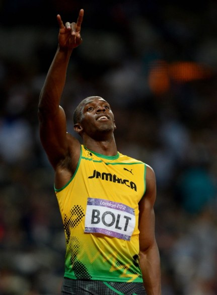 Usain Bolt rock