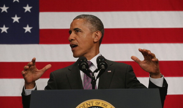 Obama Speaks At League Of Conservation Voters Capital Dinner