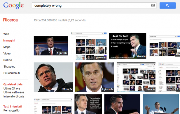 Mitt Romney? Completely Wrong