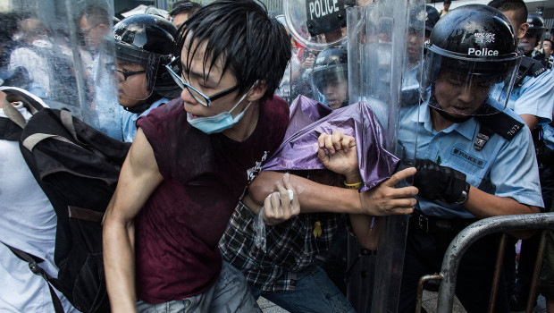 Hong Kong Students Stage Rally For Democracy