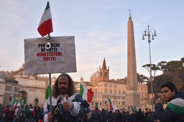 ITALY-DEMONSTRATION-FORCONI