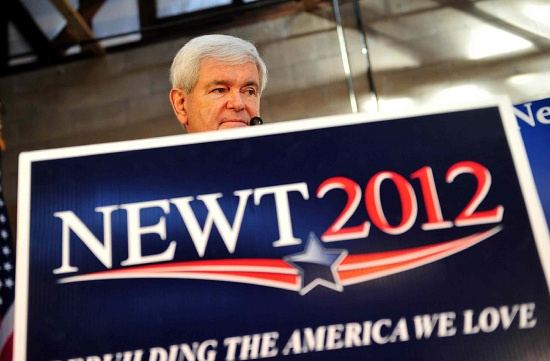 Newt Gingrich, favorito in South Carolina