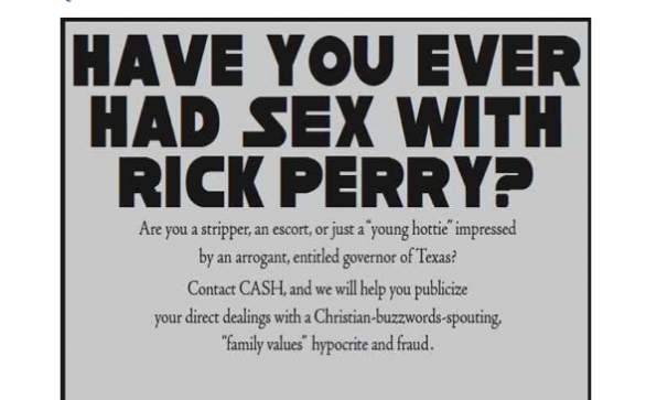 Rick Perry - Have you ever had sex with