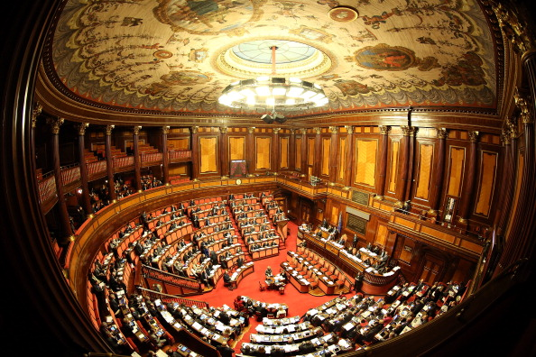 The Italian Senate Votes Over Berlusconi Parliament Expulsion