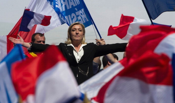 French Far Right Party 'Front National' May Day Demonstration In Paris