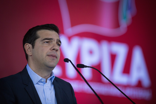 Syriza Party Rally Before This Weekend's General Election