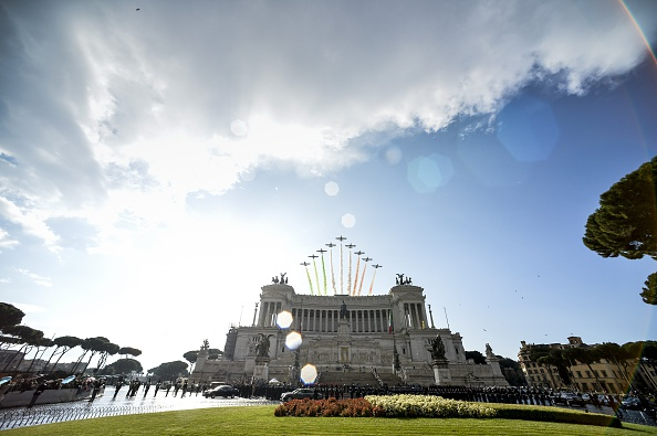 ITALY-DEFENCE-WWI-ANNIVERSARY