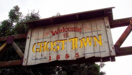 ghost town cartello