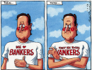 Peter Brookes sul Times: we love wankers!