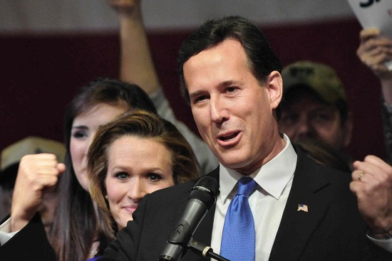 Rick Santorum vince in Mississippi e Alabama