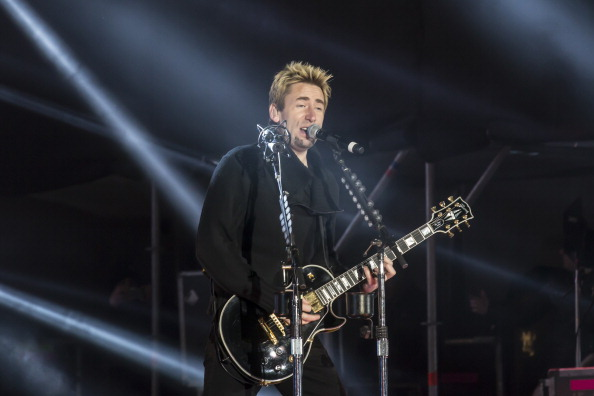Nickelback Perform At The Top Of The Mountain Concert In Ischgl