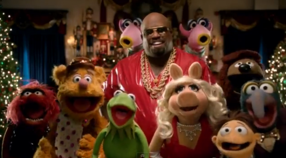 Muppets e Cee Lo Green - All I Need Is Love è il video natalizio dall'album Cee Lo's Magic Moment