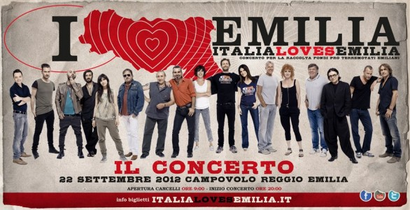 Italia Loves Emilia: i cantanti in concerto, guarda le interviste video (senza Laura Pausini)