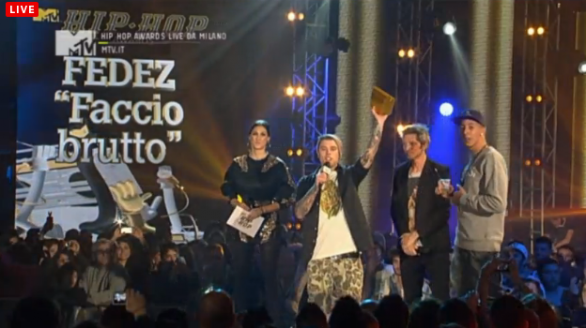 Mtv Hip Hop Awards 2012 Fedez Song of the year
