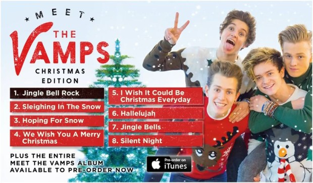 The Vamps, Meet The Vamps Christmas | streaming album