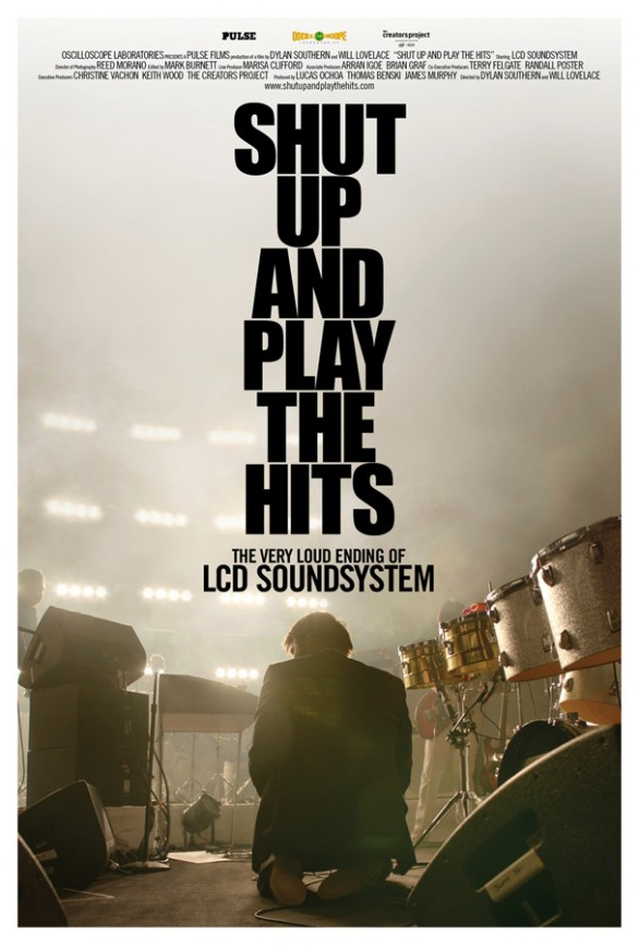 LCD Soundsystem Shut up and play the hits locandina