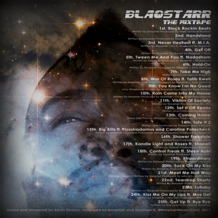 Blaqstarr e un mixtape, pieno di special guest, in download gratuito